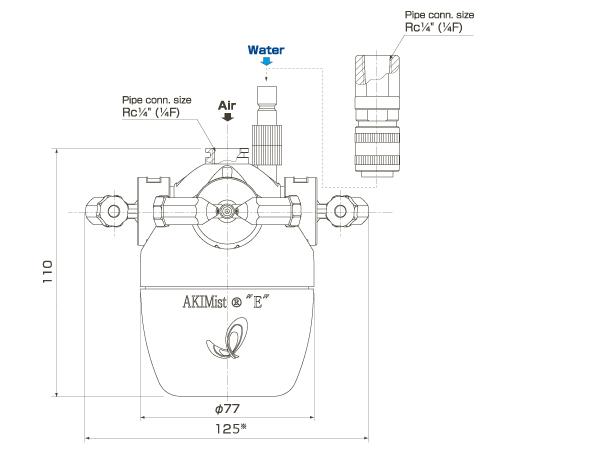 1003 sunpo en AKIMist Dry Fog Humidifier